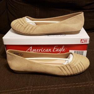 AMERICAN EAGLE Bree Flats (Nude)